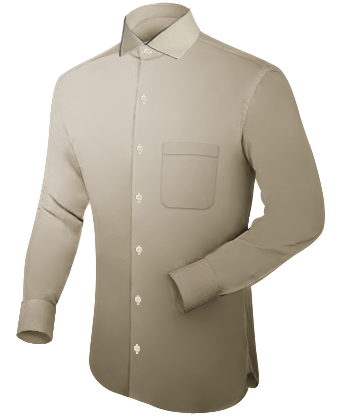 4a3fbe8ab0 Patron Camisa Hombre with French Collar 1 Button