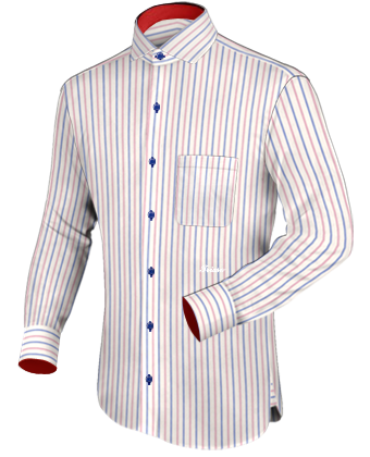 Camisa Moda with Italian Collar 1 Button