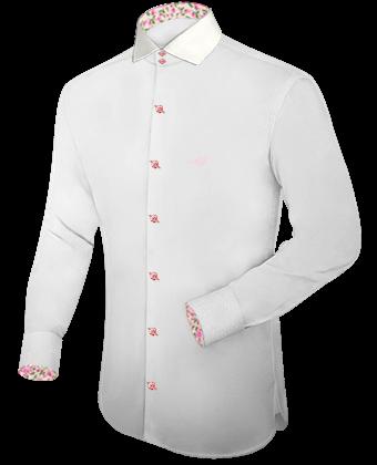 Camisas Cuello Italiano 0da4b283619